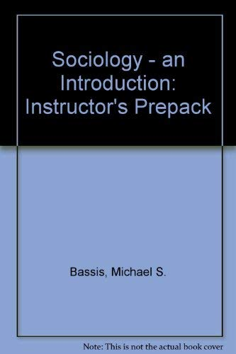 9780079110329: Sociology - an Introduction: Instructor's Prepack