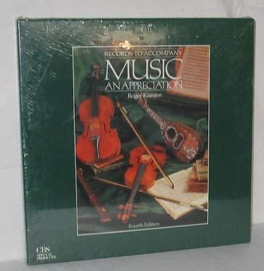 9780079111593: Music: An Appreciation: LP's - Basic Set of 8