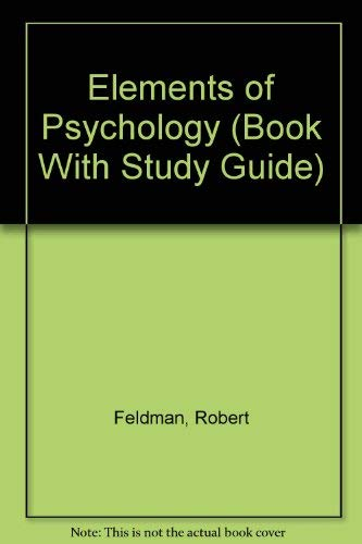 9780079112897: Elements of Psychology (Book With Study Guide)