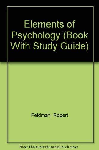 9780079112897: Elements of Psychology
