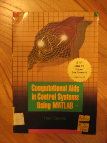 9780079113580: Computational AIDS in Control Systems Using Matlab (McGraw-Hill series in electrical and computer engineering)