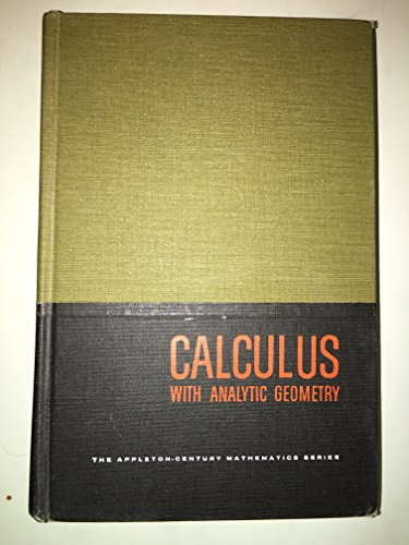 9780079113900: Calculus and Analytic Geometry