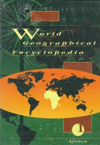 9780079114969: World Geographical Encyclopedia, 5-Volume Set (v. 1-5)