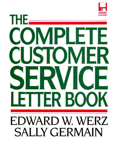 9780079116192: Complete Customer Service Letter Book