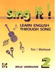 9780079116819: Sing It!: Learn English Through Song