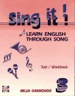 9780079116826: Sing It: Learn English Through Song Level 3