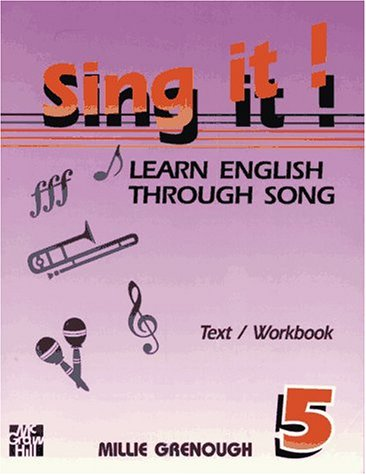 9780079116932: Sing It! Learn English Through Songs: 5