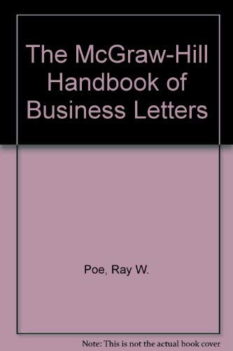 9780079117007: The McGraw-Hill Handbook of Business Letters