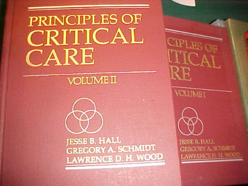9780079117342: Principles of Critical Care