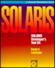 9780079118523: Solaris Developer's Tool Kit/Book and Cd-Rom (J. Ranade Workstation Series)