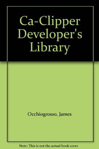 9780079118837: Ca-Clipper Developer's Library