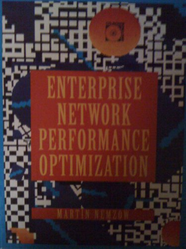 9780079118899: Enterprise Network Performance Optimization/Book and Cd-Rom (Mcgraw-Hill Series on Computer Communications)