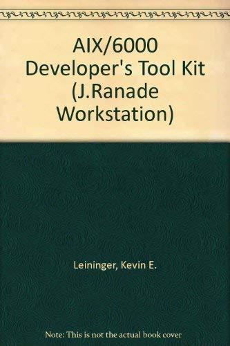 9780079119933: AIX 6000 Developer's Tool Kit