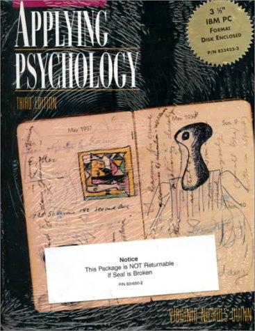 9780079120267: Applying Psychology
