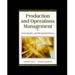 9780079120373: Production and Operations Management: Total Quality and Responsiveness/With Om-Companion (Mcgraw-Hill Series in Management)