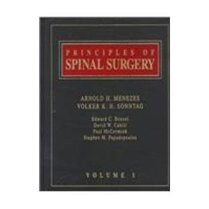 9780079120434: Principles of Spinal Surgery