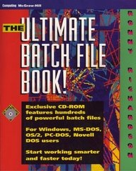 9780079120519: The Ultimate Batch File Book! (Book and Cd-Rom)