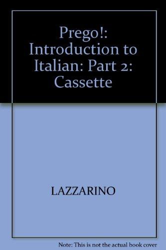 9780079121820: Student Audio Cassette Program (Vol. 2) to accompany Prego!