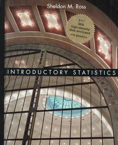 9780079122445: Introductory Statistics IBM