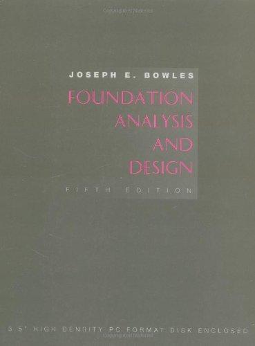 9780079122476: Foundation Analysis and Design