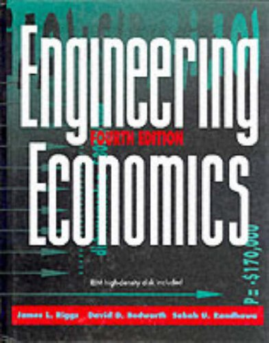 9780079122483: Engineering Economics (McGraw-Hill Series in Industrial Engineering & Management Science)