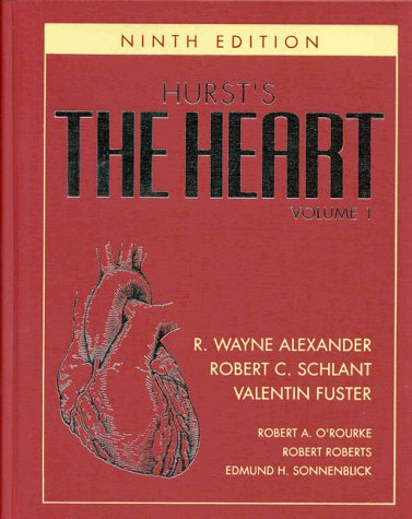 9780079129512: Hurst's the Heart, Arteries and Veins (9th ed) (2 Vol Set)