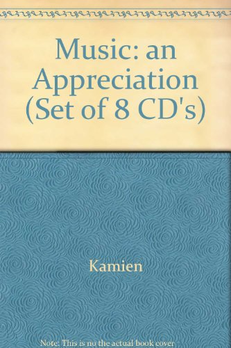 9780079129635: Music an Appreciation