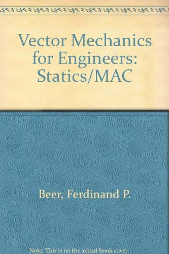 9780079129666: Vector Mechanics for Engineers: Statics/Mac