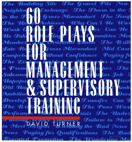 9780079130495: 60 Role Plays for Management & Supervisory Training