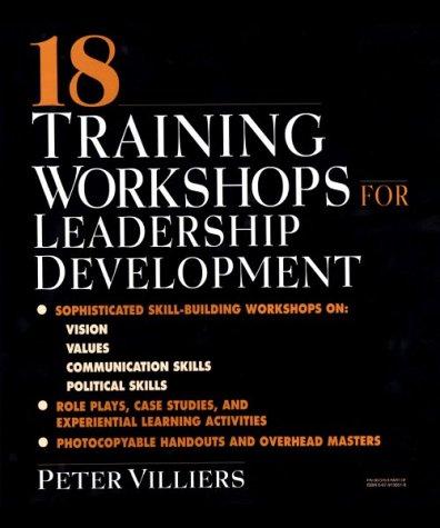 9780079130518: 18 Training Workshops for Leadership Development