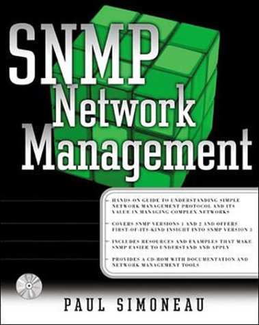 9780079130754: SNMP Network Management (McGraw-Hill Computer Communications Series)