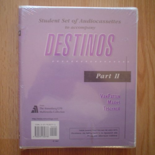 9780079130778: Title: Audiocassettes to Accompany Destinos