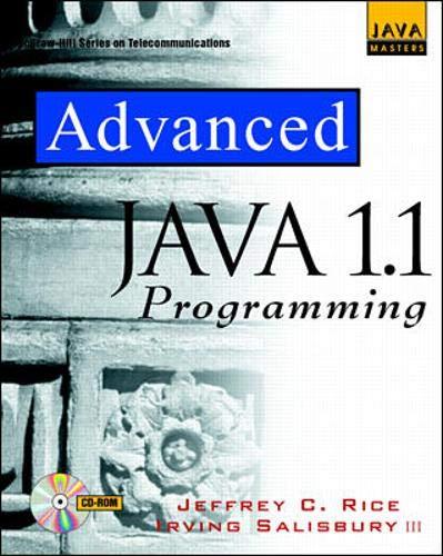 9780079130891: Advanced Java 1.1 Programming