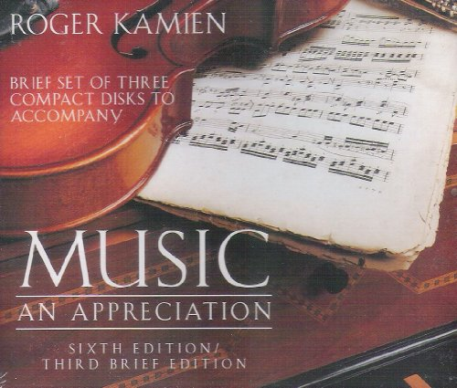 9780079131157: Brief Set of 3 Compact Disks to Accompany Music: An Appreciation