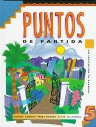 9780079131348: Puntos de Partida : An Invitation to Spanish (5th ed)