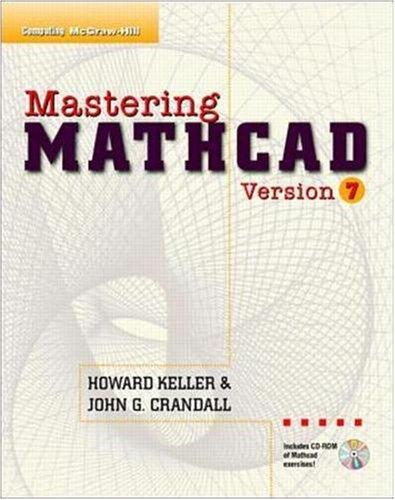 9780079131362: Mastering Mathcad Version 7