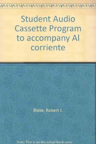 9780079131485: Student Audio Cassette Program to accompany Al corriente