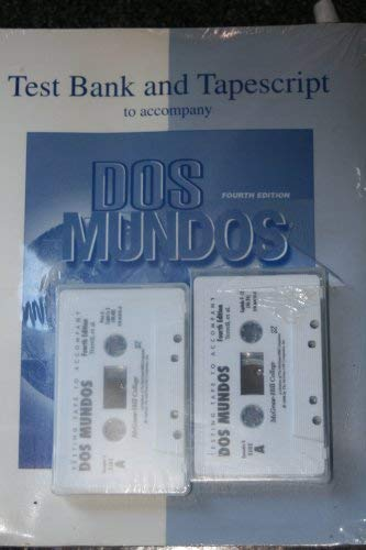 9780079131874: Ri DOS Mundos Test Program Set