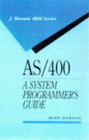 9780079132390: AS/400 a System Programmer's Guide (McGraw-Hill IBM)
