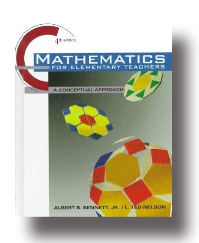 9780079132598: Mathematics for Elementary Teachers : An Activity Approach