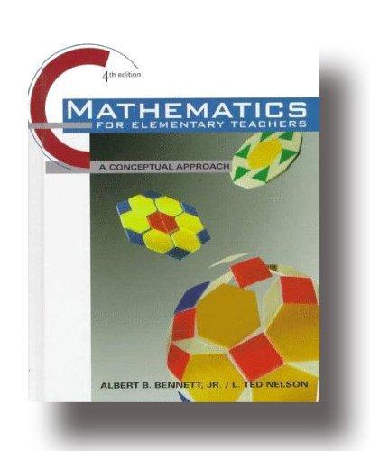 9780079132598: Mathematics for Elementary Teachers : An Activity Approach