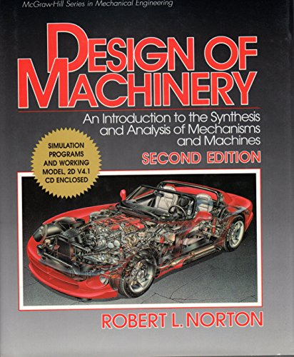9780079132727: Design of Machinery (McGraw-Hill Series in Mechanical Engineering)