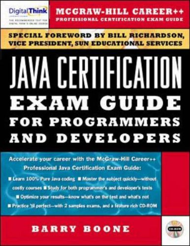 9780079136572: Java Certification for Programmers and Developers (Beta books)