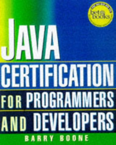 9780079136572: Java 1.1 Certification Exam Guide for Programmers and Developers