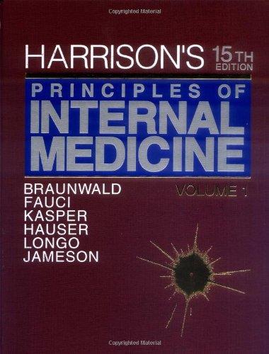 9780079136862: Harrison's Principles of Internal Medicine: 15th Edition, 2-Volume Set (Harrison's Principles of Internal Medicine (2v.))