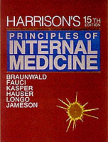 9780079136862: Harrison's Principles of Internal Medicine: 15th Edition, 2-Volume Set (Harrison's Principles of Internal Medicine (2v.))
