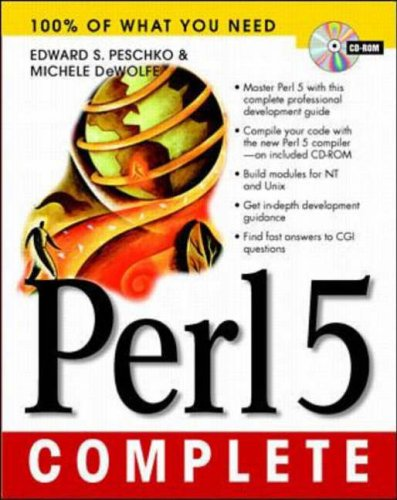 9780079136985: PERL 5 Developers Guide
