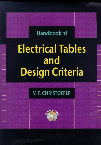 9780079137227: Handbook of Electrical Tables and Design Criteria
