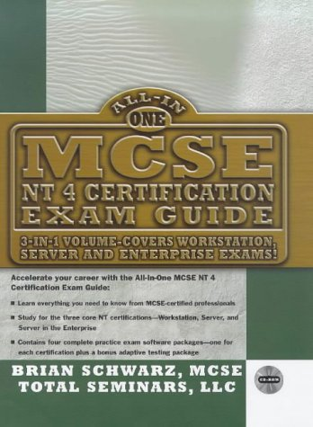 9780079137395: MCSE NT4 All-In-One Certification Exam Guide (All-In-One Series)