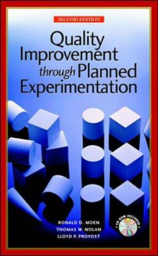 9780079137814: Quality Improvement Through Planned Experimentation